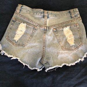 MINKPINK Shorts - MINKPINK Slasher Shorts